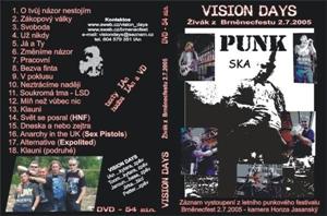 Obrázek pro výrobce DVD VISION DAYS - live 2005