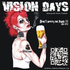Obrázek pro výrobce samolepka Dont worry be punk
